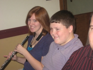 Andrew and Devon musicians