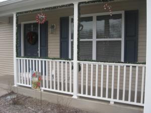 Christmas House Porch