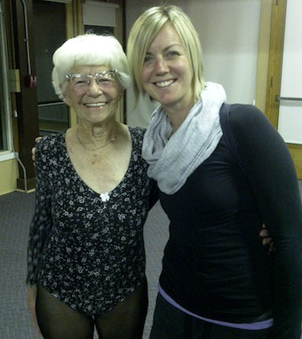 Ida Herbert- worlds oldest yoga teacher