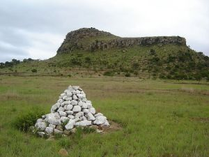 Cairn British mass grave South Africa
