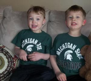 Danny and Jeni's boys - Kyle & Nate