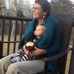 Mimi and grandson Robert