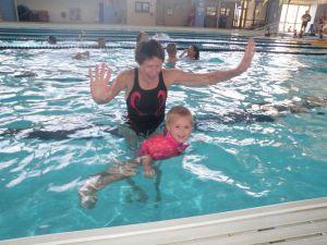 Susan - swimming