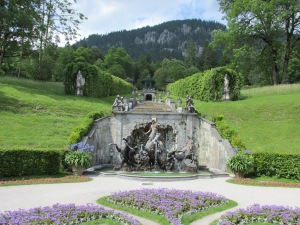 Linderhof Castle - Bavarian Alps - built 1869