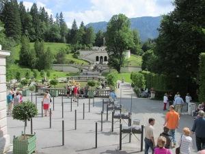 Linderhof Castle - Grounds