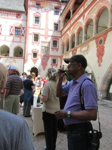 Schlos Tratzberg Court Reception