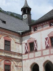 Schloss Tratzberg castle tower