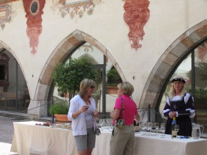 Schloss Tratzberg Court Wine & luncheon