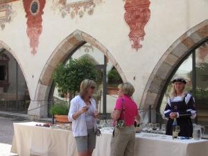 Schloss Tratzberg Court Wine & luncheon