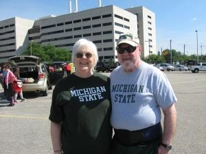 Sue & Tom - Kazoo Spartans