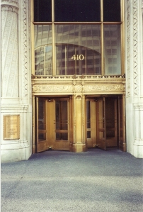 Wrigley Bldg Entrance