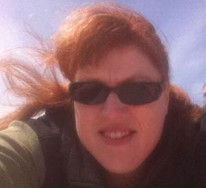 Kathleen skydiving