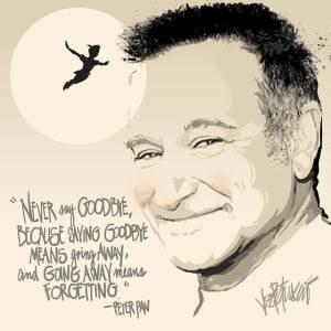 Robin Williams  Artist Joe Petruccio