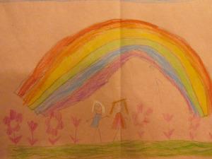 Jan 26 Under the rainbow