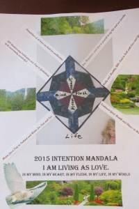 2015 Intention Mandala Living As Love