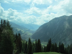 Dolomites hills and valleys  7-10-13