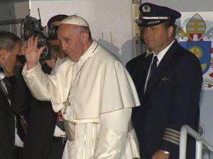 Pope Francis - depart