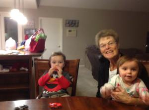 Marsha - and then there were two - grandkids