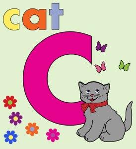 cat-alphabet-letter-c